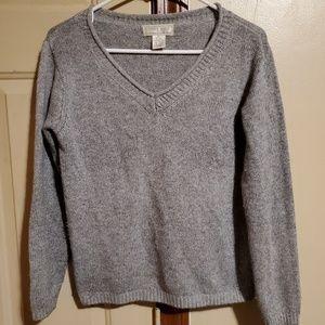 Silk Rabbit Blend Sweater